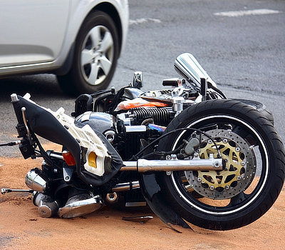 motorcycle accident harland law firm